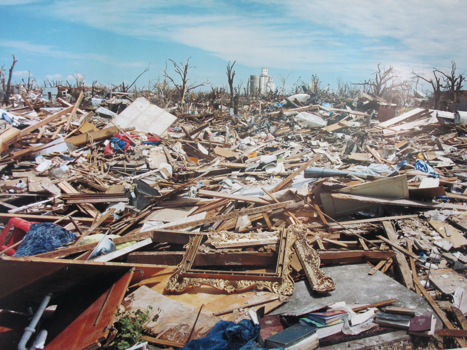 Devastation from the EF5 Tornado in 2007